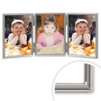 Triple, Thin Edge - Silver Plated Frame thumbnail