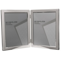 Double, Narrow Edge -  Silver Plated Frame thumbnail