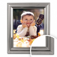 Bead - Silver Plated Frame  thumbnail