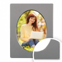 Oval Silver Plated Frame 8x10 (20x25cm) thumbnail