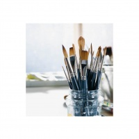 WINSOR & NEWTON - ARTISTS WATER COLOUR SABLE BRUSH - ONE STROKE thumbnail