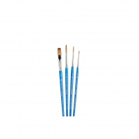 WINSOR & NEWTON -  COTMAN 4 PIECE BRUSH SET - SHORT HANDLE thumbnail