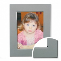 Broad Flat - Silver Plated Frame 5x7 (13x18cm) thumbnail