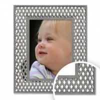 Lattice Pewter - Metal Frame 5x7 (13x18cm) thumbnail
